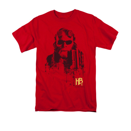 Image for Hellboy II T-Shirt - Splatter Gun