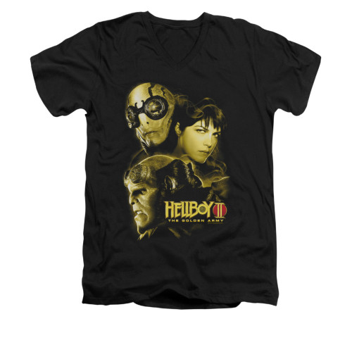 Image for Hellboy II V-Neck T-Shirt - Ungodly Creatures