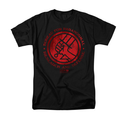 Image for Hellboy II T-Shirt - BPRD Logo