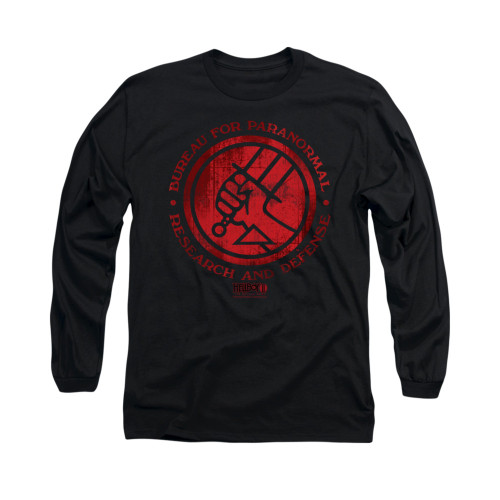 Image for Hellboy II Long Sleeve T-Shirt - BPRD Logo