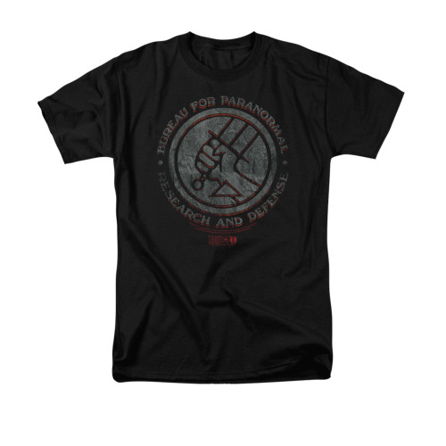Image for Hellboy II T-Shirt - BPRD Stone
