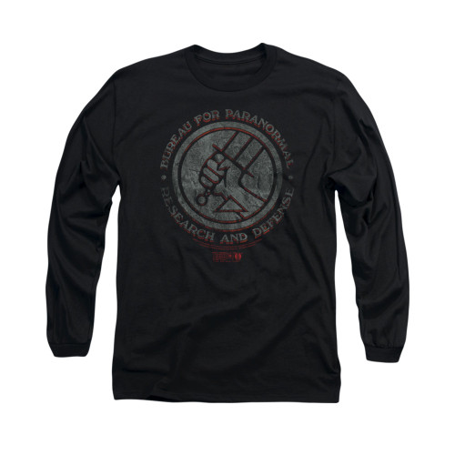 Image for Hellboy II Long Sleeve T-Shirt - BPRD Stone