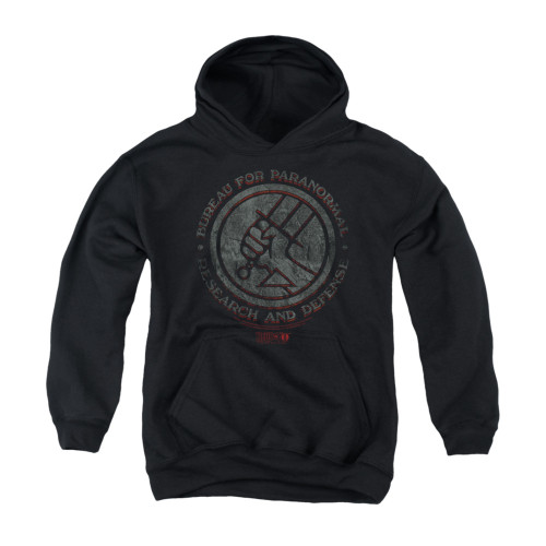 Image for Hellboy II Youth Hoodie - BPRD Stone