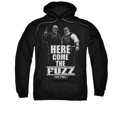 Image for Hot Fuzz Hoodie - Here Comes the Fuzz
