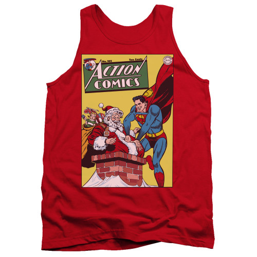 Image for Superman Tank Top - Cover No. 105