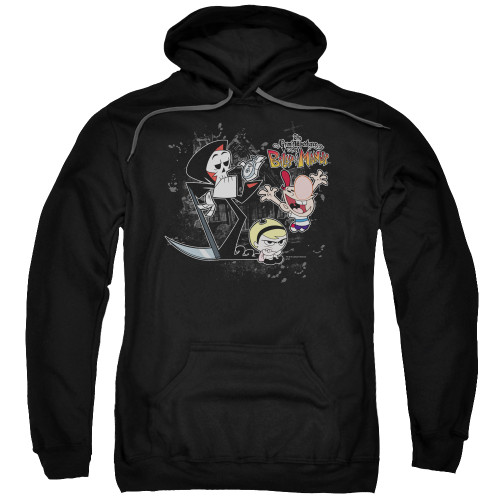 Image for The Grim Adventures of Billy and Mandy Hoodie - Splatter Cast