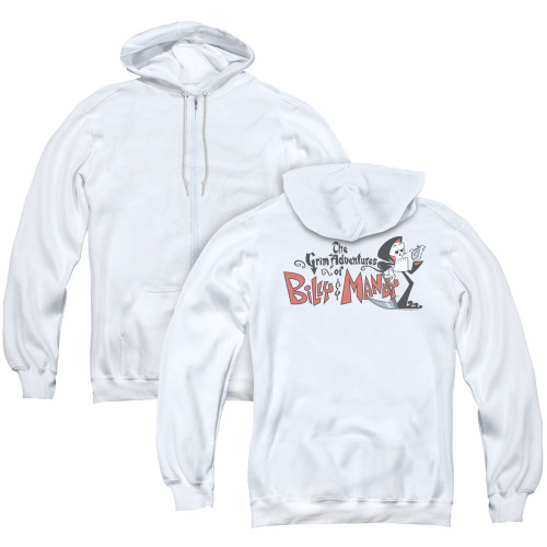 Image for The Grim Adventures of Billy and Mandy Zip Up Back Print Hoodie - Logo