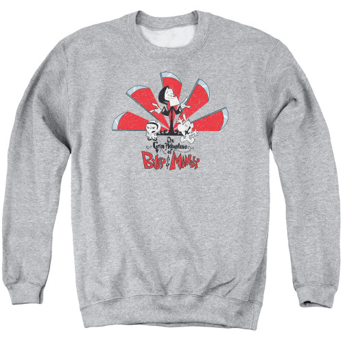 Image for The Grim Adventures of Billy and Mandy Crewneck - Grim Adventures