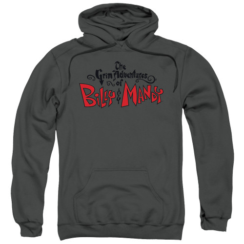 Image for The Grim Adventures of Billy and Mandy Hoodie - Grim Logo