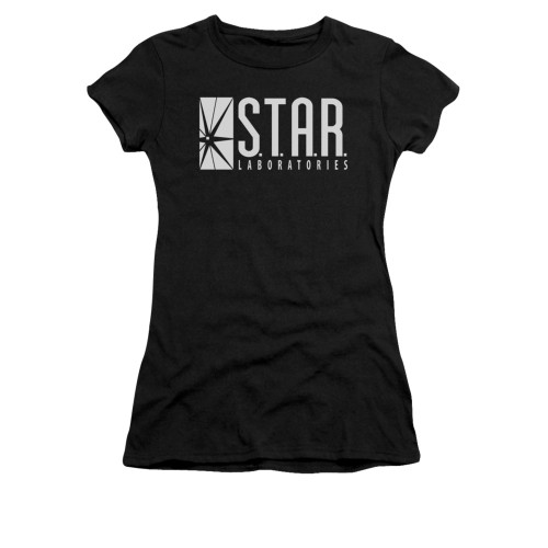 Image for Flash TV Show Girls T-Shirt - S.T.A.R. Laboratories