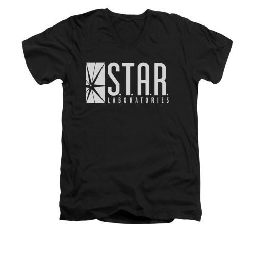 Image for Flash TV Show V-Neck T-Shirt - S.T.A.R. Laboratories