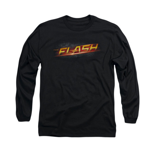 Image for Flash TV Show Long Sleeve T-Shirt - Logo