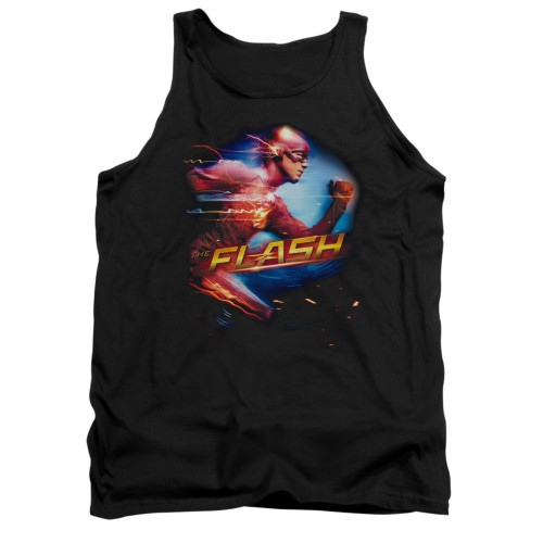 Image for Flash TV Show Tank Top - Fastest Man