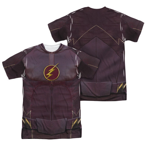 Image Closeup for Flash TV Show Sublimated T-Shirt - Uniform