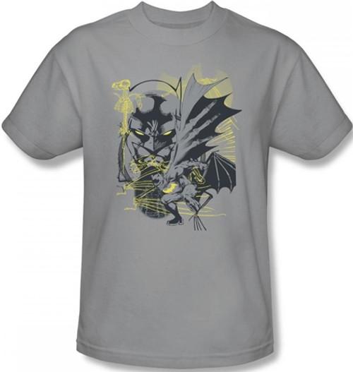 Image Closeup for Batman T-Shirt - Symbiotic