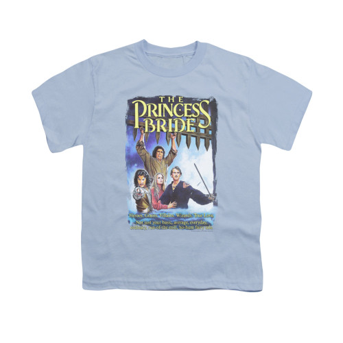 Image for Princess Bride Youth T-Shirt - Alt Poster