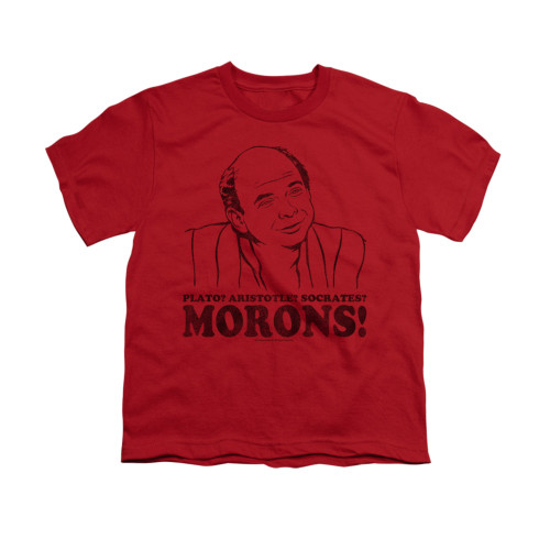 Image for Princess Bride Youth T-Shirt - Morons