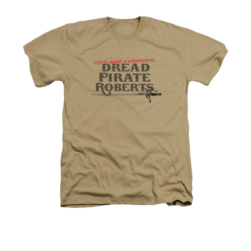 Image for Princess Bride Heather T-Shirt - You'd Make a Wonderful Dread Pirate Roberts