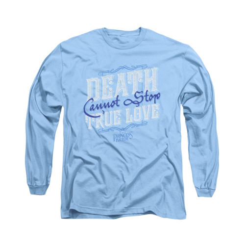 Image for Princess Bride Long Sleeve T-Shirt - Love Over Death