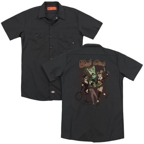 Image for Justice League of America Dickies Work Shirt - Bad Girls