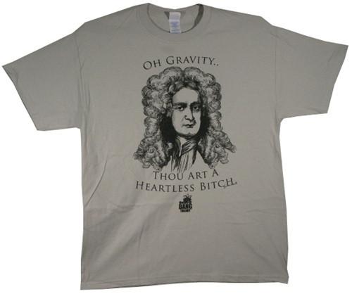 Image for Big Bang Theory Oh Gravity T-Shirt
