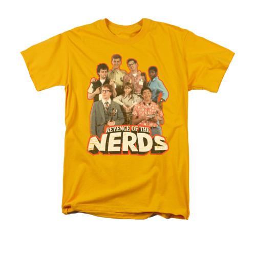 Image for Revenge of the Nerds T-Shirt - Group of Nerds