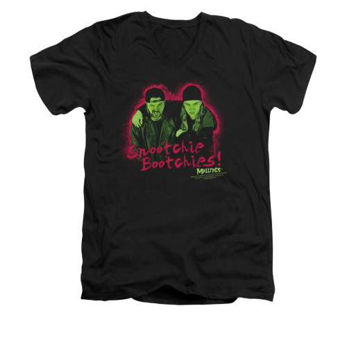 Image for Mallrats V-Neck T-Shirt - Snootchie Bootchies