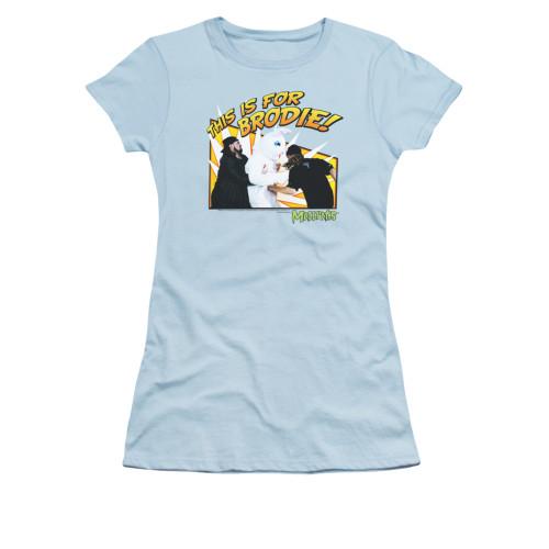 Image for Mallrats Girls T-Shirt - Bunny Beatdown