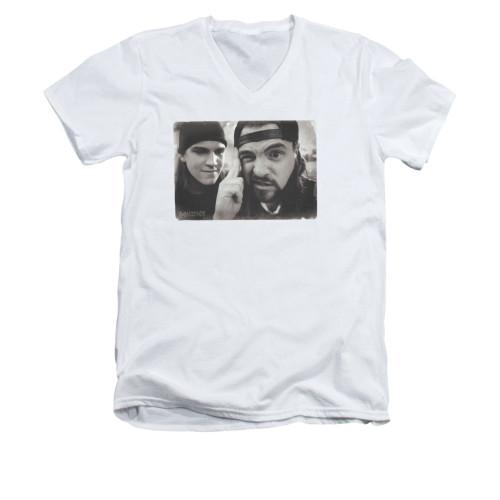 Image for Mallrats V-Neck T-Shirt - Mind Tricks