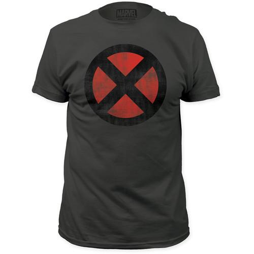 Image for X-Men T-Shirt - Distressed Logo