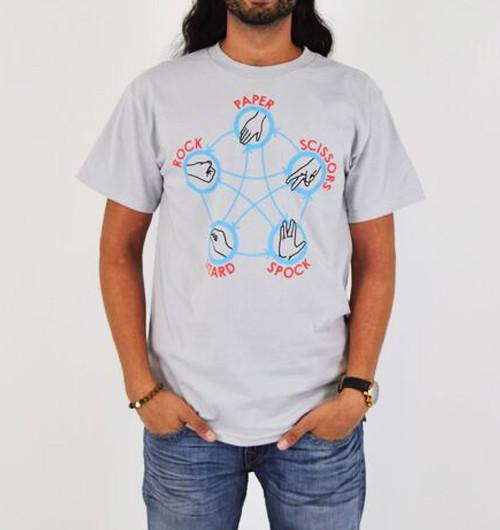 Image for Big Bang Rock Paper Scissors Lizard Spock T-Shirt