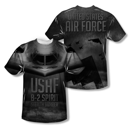 Image Closeup for Air Force Sublimated Youth T-Shirt - Stealth