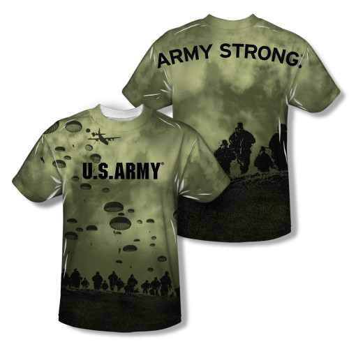 Image Closeup for US Army Sublimated Youth T-Shirt - Air to Land