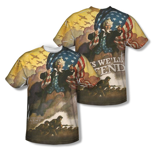 Image Closeup for US Army Sublimated Youth T-Shirt - Vintage Poster