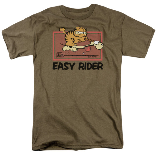 Image for Garfield T-Shirt - Vintage Easy Rider