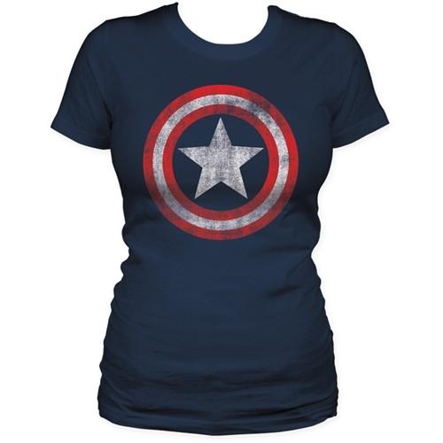 Image for Captain America Girls T-Shirt