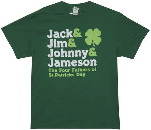 Image for Four Fathers of St. Patty's Day T-Shirt