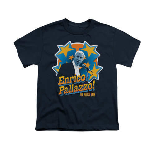 Image for Naked Gun Youth T-Shirt - It's Enrico Pallazzo