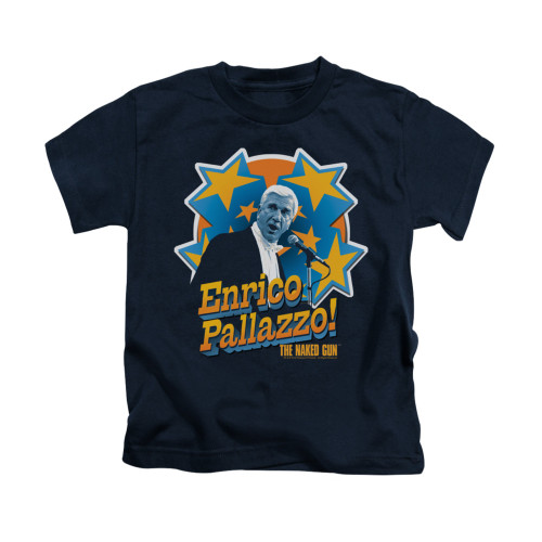 Image for Naked Gun Kids T-Shirt - It's Enrico Pallazzo