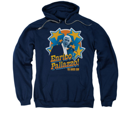 Image for Naked Gun Hoodie - It's Enrico Pallazzo