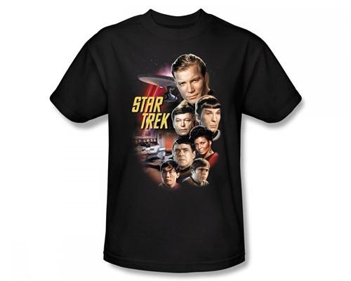 Image for Star Trek T-Shirt - the Classic Crew