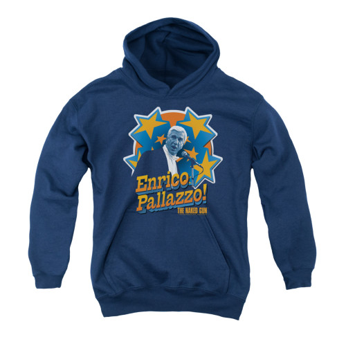 Image for Naked Gun Youth Hoodie - It's Enrico Pallazzo