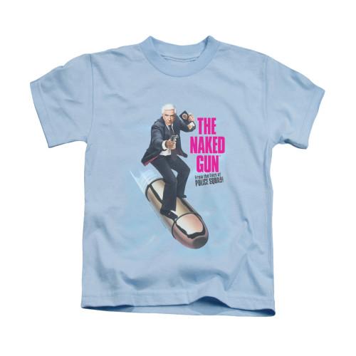 Image for Naked Gun Kids T-Shirt - Bullet