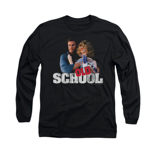 Image for Old School Long Sleeve T-Shirt - Frank and Friend