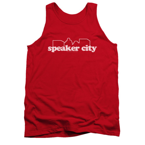 Image for Old School Tank Top - Speaker City Logo