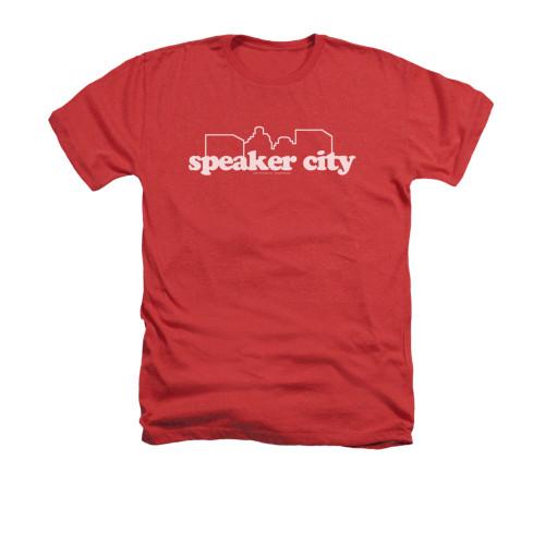 Image for Old School Heather T-Shirt - Speaker City Logo