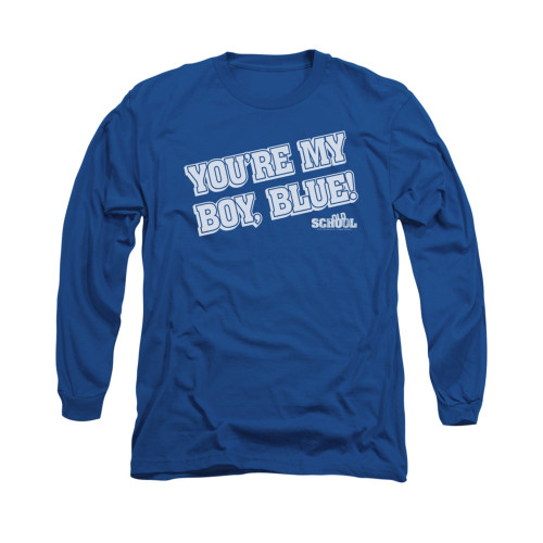 Image for Old School Long Sleeve T-Shirt - My Boy Blue