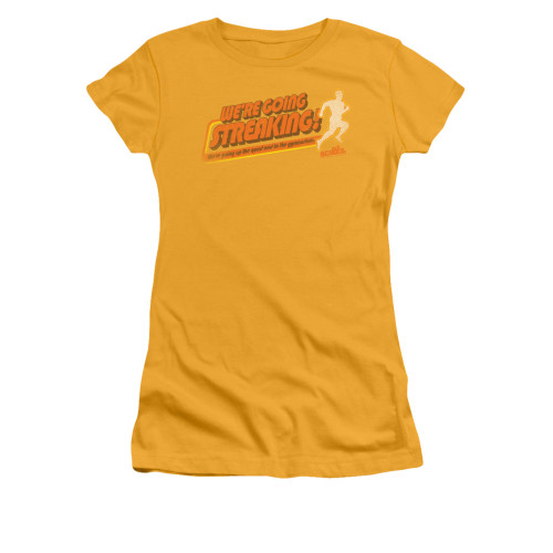 Image for Old School Girls T-Shirt - Streaking