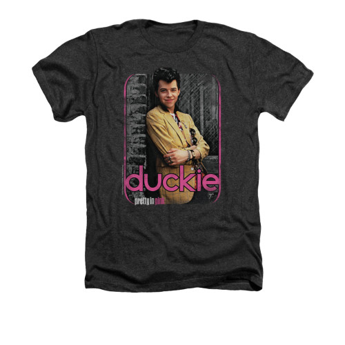 Image for Pretty in Pink Heather T-Shirt - Just Duckie