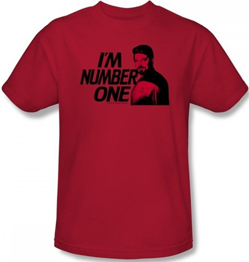 Image for Star Trek the Next Generation T-Shirt - I'm Number One